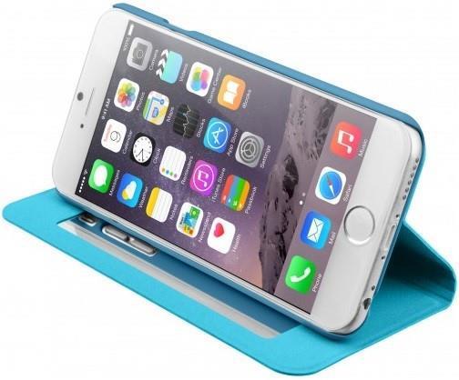 Чехол-книжка для iPhone 6/6s Laut Apex Mirror Blue (LAUT_IP6_FOM_BL)