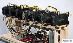 Майнинг ферма GPU Nvidia GTX 1060 3 Гб 3 шт