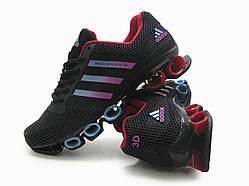 Кроссовки женские Adidas Bounce черные (копия)