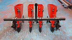 Сажалка для чеснока 4-х рядная ЧСН-4 Володар для минитрактора (3Т), фото 2
