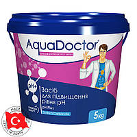 """Средство для повышения уровня pH в гранулах AquaDoctor """"pH-plus"""" 5 кг, фото 1"""