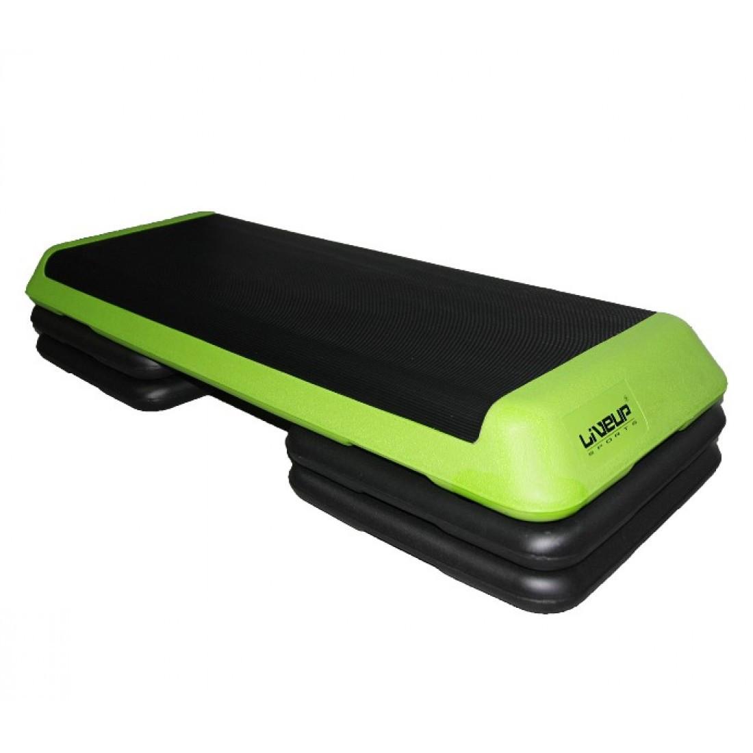 Степ-платформа регулируемая LiveUp Aerobic Step