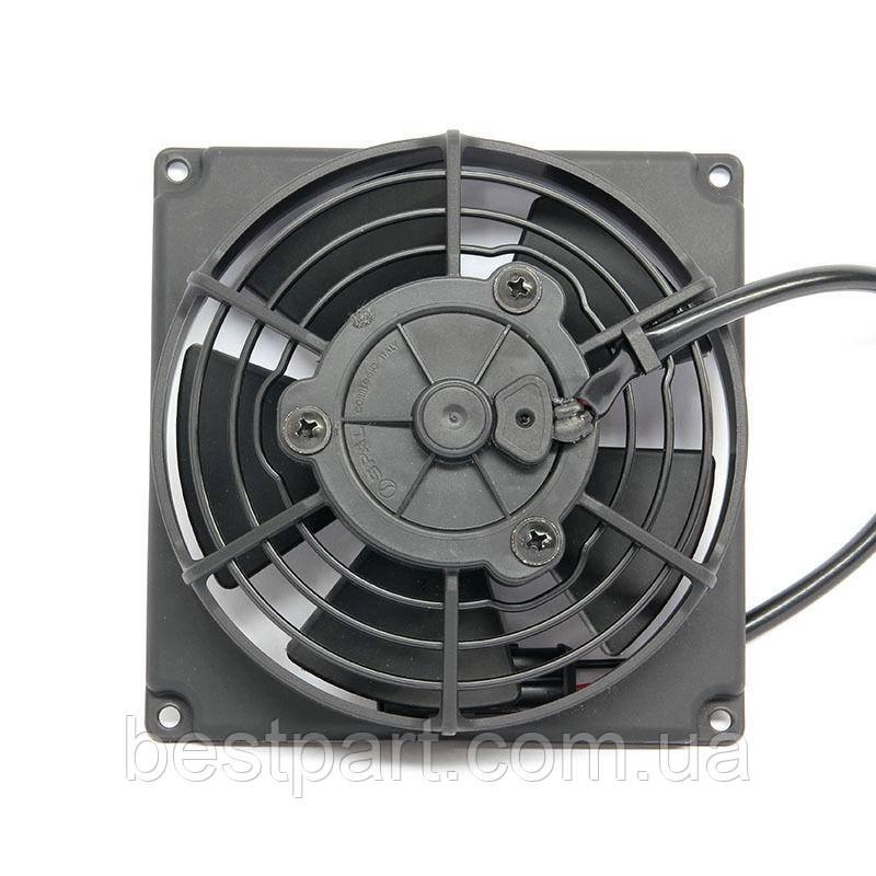 Вентилятор Spal 24V, толкающий, VA69A-B101-87S