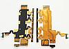 Шлейф (Flat cable) с коннектором микрофона, кнопкой вкл/ выкл, кнопками регулировки громкости Sony C6902 C6903