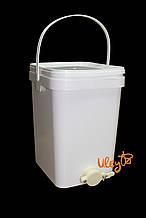 Бак Куботейнер для фасовки меда 20 л (отстойник для меда) — Турция