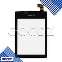 Тачскрин Nokia 300 Asha, цвет черный