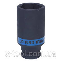 "Головка ударная длинная 1/2"" 30 мм KING TONY 443530M"