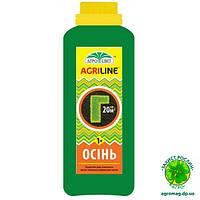 Профессиональное удобрение Agriline для газона осень 1л