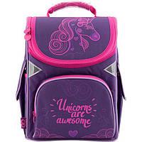 Рюкзак школьний каркасний GoPack GO18-5001S-7