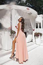 Платье на запах с рюшиками , фото 3