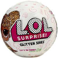 Шар L. O. L surprise Glitter setries блестящий кукла лол арт 551577