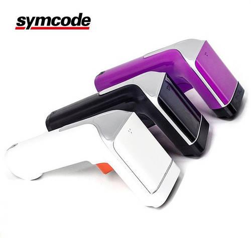 Symcode MJ-6708 стильный беспроводной сканер штрихкодов с вибро, отлично под 1С