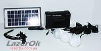 Автономный внешний аккумулятор-зарядное с солнечной батареей GDLITE 8017B!, фото 1