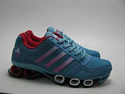 Кроссовки женские Adidas Bounce синие (копия)