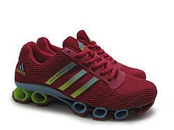 Кроссовки женские Adidas Bounce красные (копия)