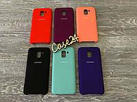 Чехол Soft touch для Samsung Galaxy J6 J600 2018 (6 цветов)