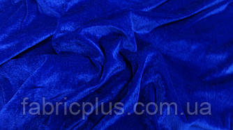 Велюр синий