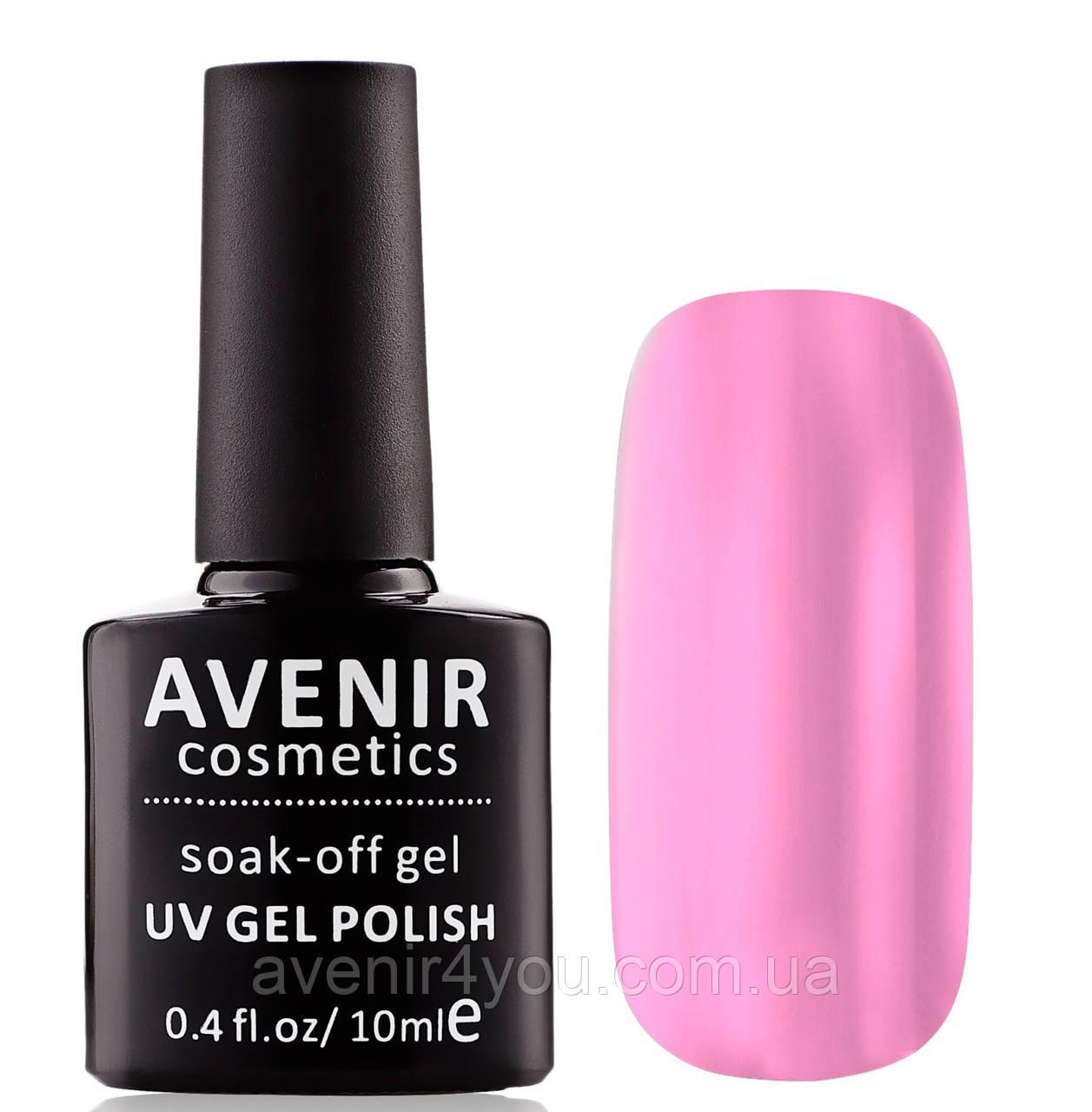 Гель-лак AVENIR Cosmetics №09. Бузково-рожевий