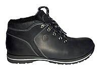 Кожаные зимние ботинки мужские, кроссовки Basso 1420