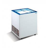 Морозильный ларь Crystal Ektor 16 SGL (прямое стекло)