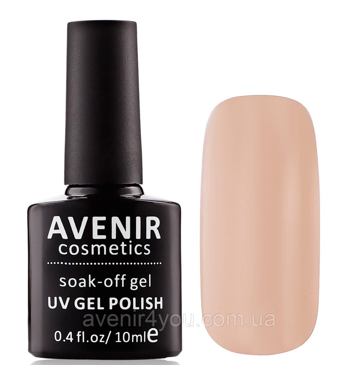 Гель-лак AVENIR Cosmetics №14. Молочно-кофейный