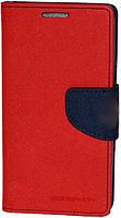 Чехол-книжка Goospery для Lenovo Vibe K6 Note Red