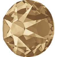 Кристаллы Swarovski клеевые холодной фиксации 2088 Crystal Golden Shadow F