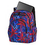 Рюкзак школьный СoolPack Flash  HAWAIAN BLUE 46x33x19 см 29  литров (88084CP), фото 3
