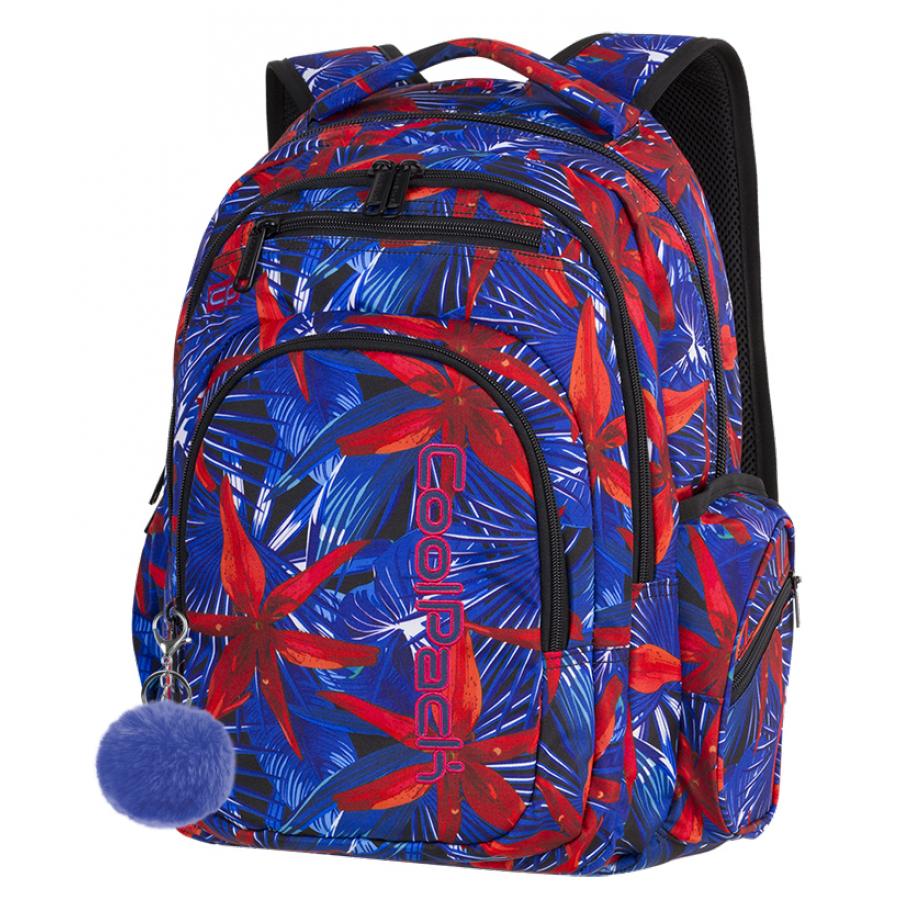 Рюкзак школьный СoolPack Flash  HAWAIAN BLUE 46x33x19 см 29  литров (88084CP)
