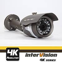 UHD-4K-800WIDE уличная 8MP видеокамера, угол обзора 90°,Ик  30 метров