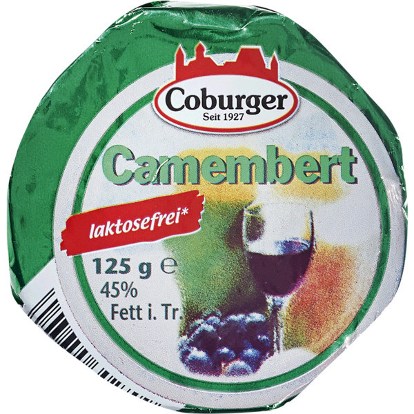 Coburger Camembert 45% 125g