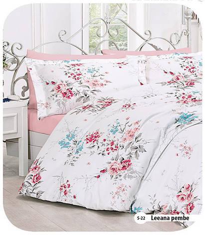 Полуторное постельное белье  First Choice Leeana pembe, фото 2