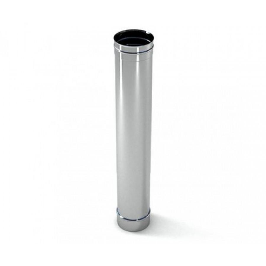 Труба 1 м з нержавіючої сталі 0,5 мм