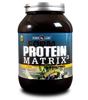 FL Protein Matrix 3 1000g - черника с творогом