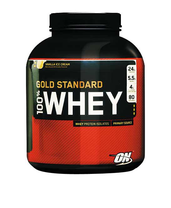 ON Whey Gold standard 2,273 кг-strawberry-banana