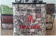 Микрофибра TRUE LOVE  Камни, фото 1