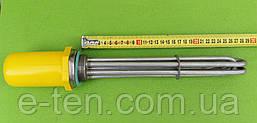 """Блок ТЕН """"повністю з НЕРЖАВІЙКИ"""" 7500 W (220/380 V) на різьбі 1,5"""" (48мм) / Lдлина=290мм Tormec, Туреччина"""