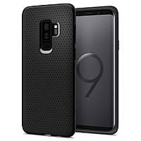 Чехол Spigen для Samsung S9 Plus Liquid Air, Matte Black (593CS22920)
