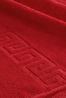 Полотенца махровые 70х140 см Туркменистан 450 г\м2  Красный