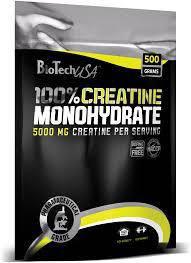 BT 100% CREATINE MONOHYDRATE пакет - 500g