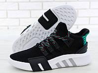"""Кроссовки мужские Adidas EQT Bask ADV """"Черные с белым"""" р. 41-44"""