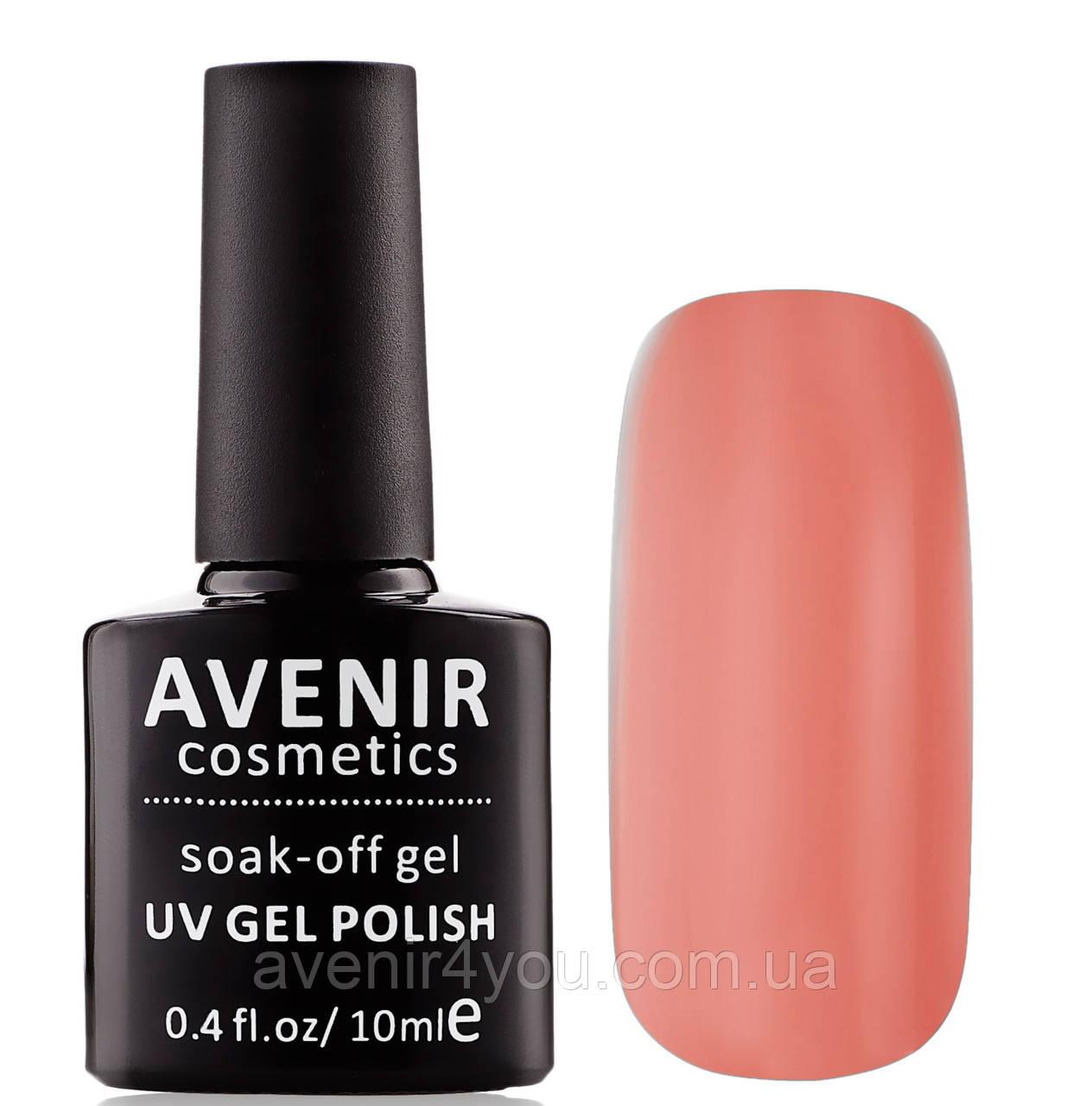 Гель-лак AVENIR Cosmetics №35. Карамельный розовый