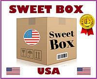 Американский Свит Бокс Большой - подарочный набор оригинальных сладостей из США