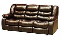 """Кожаный диван прямой раскладной """"Armstrong"""""""