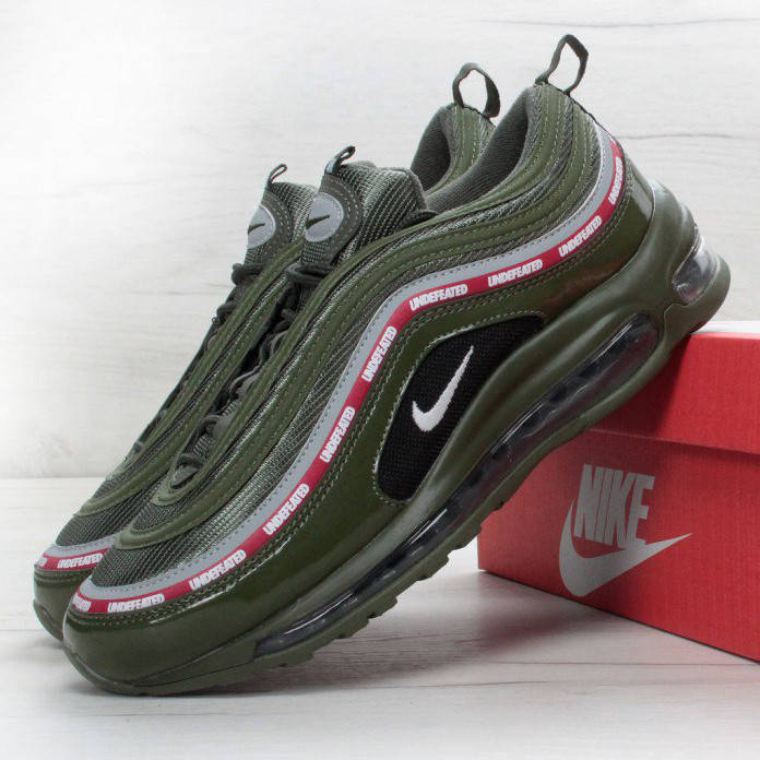 Nike Air Max 97 Undefeated Green Red (реплика)