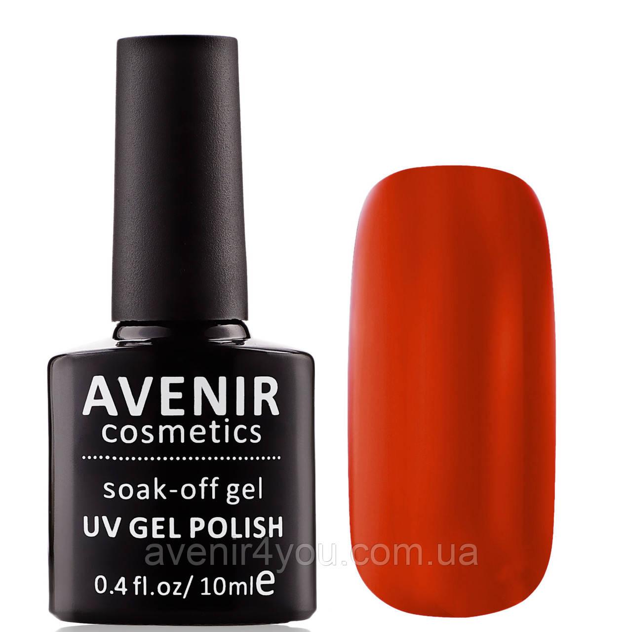 Гель-лак AVENIR Cosmetics №60. Терракотово-красный