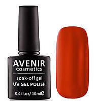 Гель-лак AVENIR Cosmetics №60. Терракотово-красный, фото 1