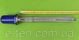 """Блок ТЕН """"повністю з НЕРЖАВІЙКИ"""" 10000 W (220/380 V) на різьбі 1,5"""" (48мм) / Lдлина=380мм Tormec, Туреччина"""