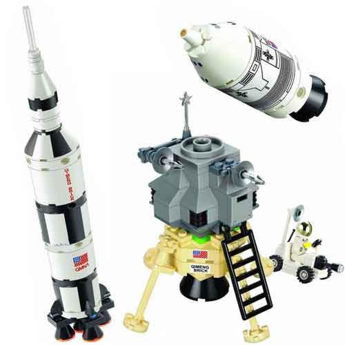 Конструктор BRICK 511 космическая ракета, 229 дет