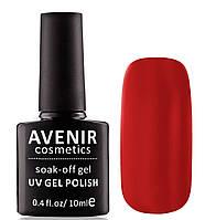 Гель-лак AVENIR Cosmetics №63. Открытый красный (true red), фото 1
